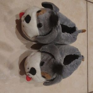 Childrens Place Puppy Slippers